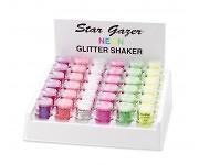 Stargazer UV Glitter Shaker - white