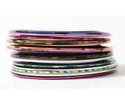 Nailart Striping Tape - Streifen bunt