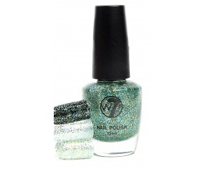 W7 Nagellack - Cosmic Green