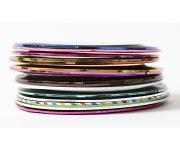Nailart Striping Tape - pink-holo