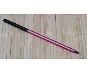 Pinsel - Lidschatten rund klein pink/schwarz