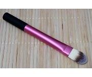 Pinsel - Foundation flach pink/schwarz