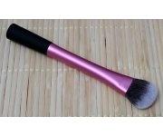 Pinsel - Foundation Kontur klein pink/schwarz