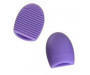 Brushegg Flieder - Reinigungshilfe für Make-up Pinsel