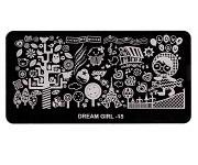 Stamping Platte - Dream Girl 15