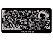 Stamping Platte - Dream Girl 01