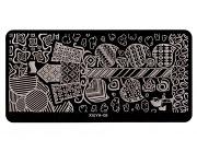 Stamping Platte - Fantasy 05