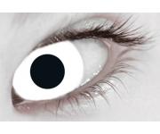 Halloween Kontaktlinsen - White Out Tageslinsen