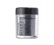 Stargazer Starlight Glitter Shaker - Rocket Silver