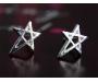 Ohrstecker Star silber