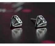 Ohrstecker Diamonds silber