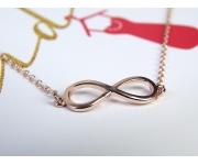 Armband Infinity Roségold