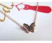 Armband Schmetterling Roségold