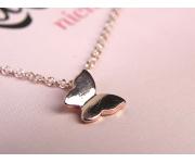 Halskette Schmetterling Roségold