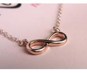 Halskette Infinity Roségold