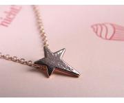 Halskette Star Roségold