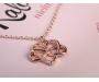 Halskette Unendliche Liebe Roségold