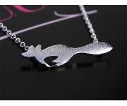 Halskette Fox Silber