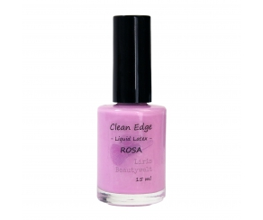 Clean Edge - Liquid Latex ROSA 15 ml