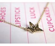 Halskette Bird gold