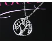 Halskette Lebensbaum Silber