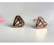 Ohrstecker Diamonds roségold