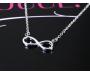 Halskette Infinity Silber