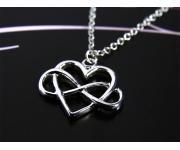 Halskette Unendliche Liebe Silber