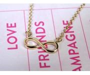 Halskette Infinity Gold
