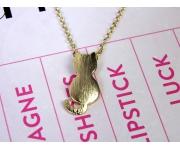 Halskette Cat Gold