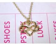 Halskette Unendliche Liebe Gold