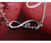 Armband Infinity Love Silber