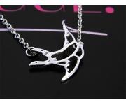 Halskette Schwalbe Silber