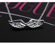 Halskette Flügel Silber