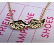 Halskette Flügel Gold