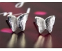 Ohrstecker Schmetterling silber