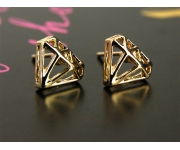 Ohrstecker Diamonds gold