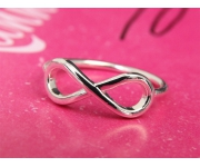Ring Infinity Silber