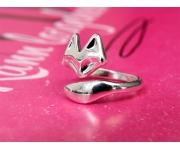 Ring Fox Silber