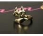 Ring Fox Gold