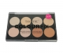 technic Colour Fix Pressed Powder Contour Palette - helle Haut