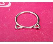Ring Katzenohren Silber