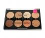 technic Colour Fix Cream Foundation Contour Palette - helle Haut