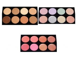 technic Colour Fix - 3 Creme-Paletten Set