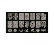Stamping Platte XL - Ornamente 01