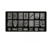 Stamping Platte XL - Ornamente 02