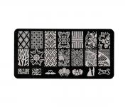Stamping Platte XL - Ornamente 06