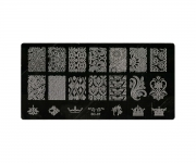 Stamping Platte XL - Ornamente 07
