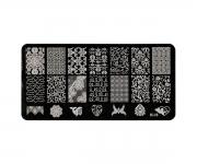 Stamping Platte XL - Ornamente 08