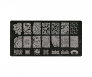 Stamping Platte XL - Ornamente 10